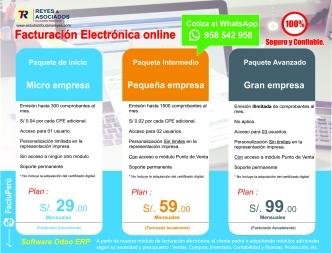 Implementación de Facturación electrónica desde s/ 200.00